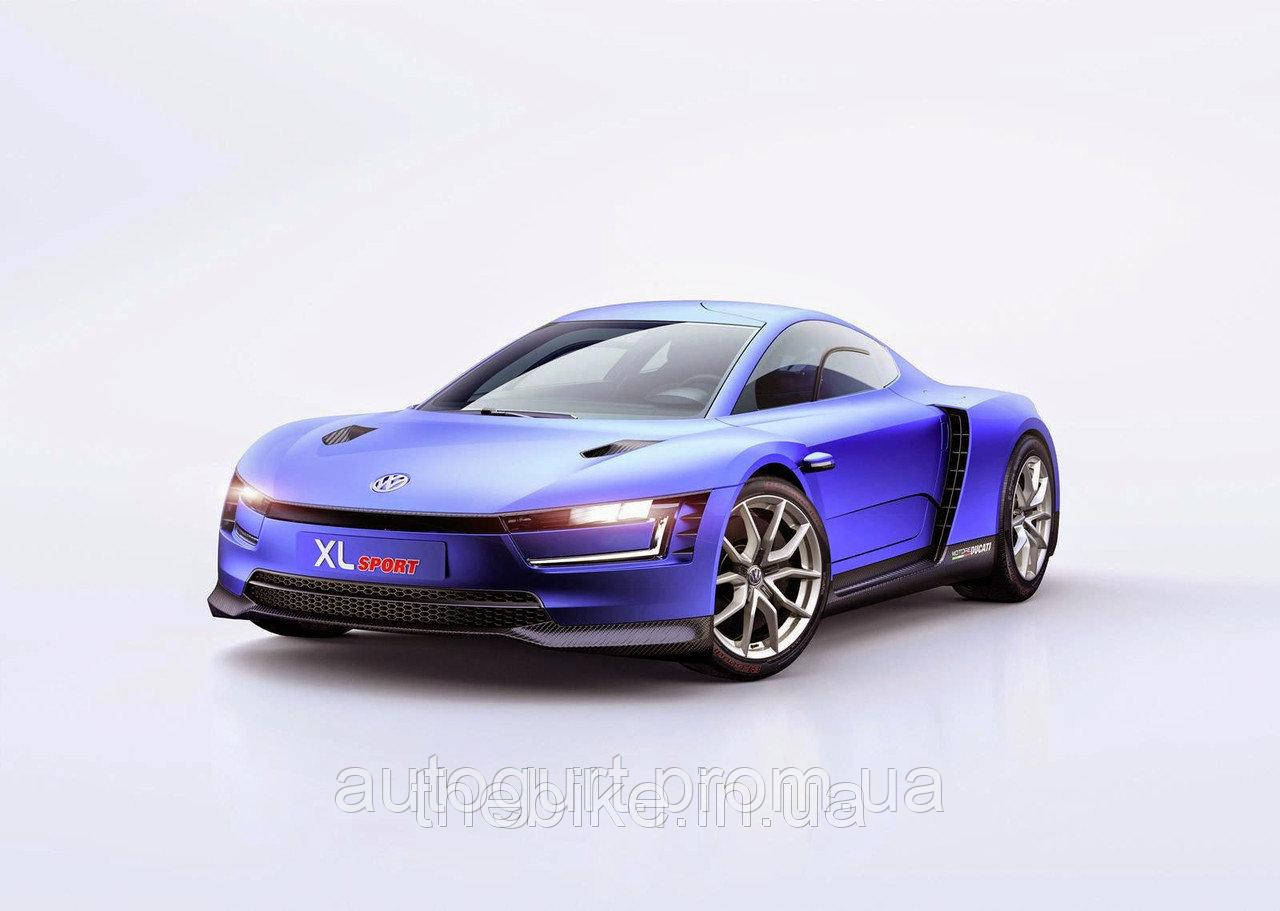 Модель автомобиля Volkswagen XL Sport, Scale 1:43, Racing Blue