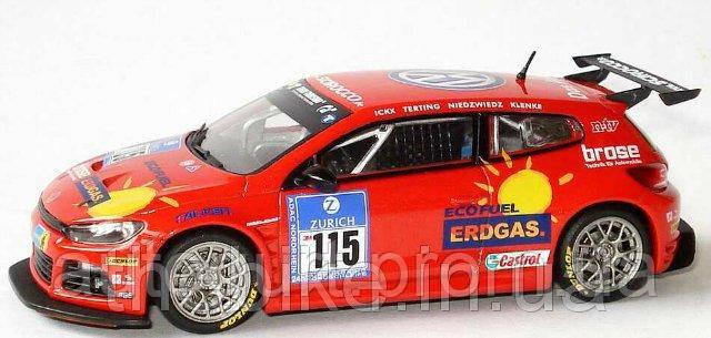 Модель автомобиля Volkswagen Scirocco GT 24-CNG, Scale 1:43