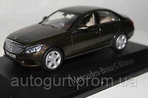 Модель автомобиля Mercedes-Benz C-Class EXCLUSIVE Citrin Braun, Scale 1:43