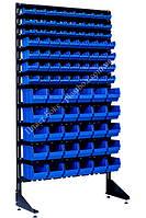 Стеллаж - стойка для радиодетелей с ящиками Ямполь, фото 1