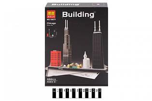 """Конструктор Бела 10677 Building """"Chicago"""", 444 дет. Чикаго"""