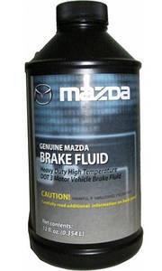 Жидкость тормозная Mazda DOT-3 Brake Fluid (0,35л)