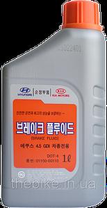 Тормозная жидкость Hyundai DOT-4 Brake Fluid (1л)