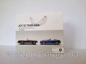 Бумажный подарочный пакет BMW Paper Bag With Handle