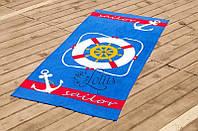 Велюровое полотенце Lotus пляжное Lifebuoy 75*150