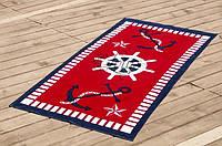 Велюровое полотенце Lotus пляжное Hard a-port 75*150