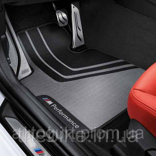 Коврики передние оригинальные M Performance для BMW 1 (F20/F21), BMW 2 (F22/F23/F87)