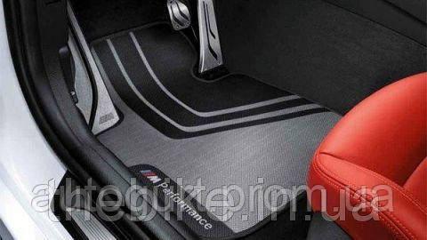 Коврики передние оригинальные M Performance для BMW 5 (F10, F11)