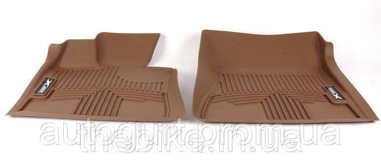 Коврики оригинальные передние для BMW X5 (E70) всепогодные бежевые