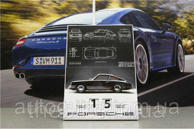 Календарь Porsche Enamel Calendar