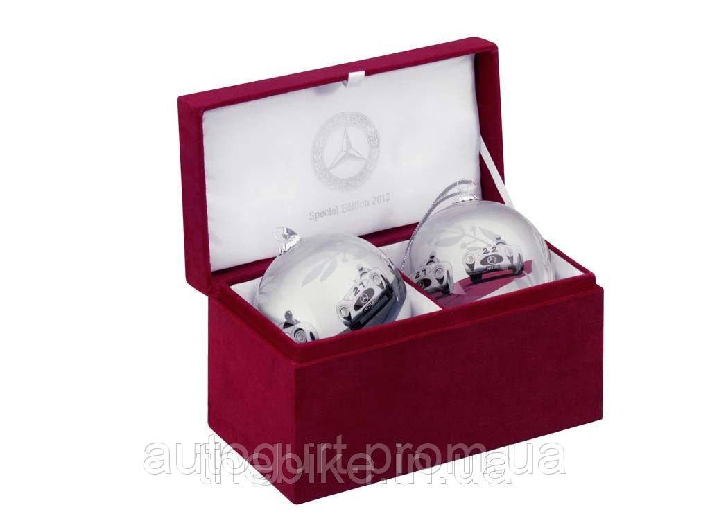 Набор елочных шаров Mercedes-Benz Christmas balls set