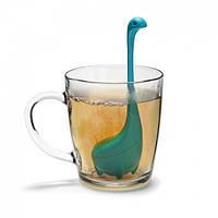 Силиконовый заварник для чая Baby Nessie OTOTO (бирюзовый)