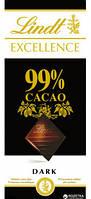 Шоколад черный Lindt Excellence 99% какао Швейцария 100 г