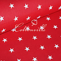 Бязь Звездочки на красном (22 мм), фото 1