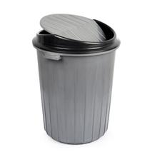 Бак для сміття з хитної кришкою 25 л кольори в асортименті