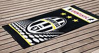 Велюровое полотенце Lotus пляжное Juventus 75*150