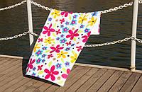 Велюровое полотенце Lotus пляжное Good Day 75*150