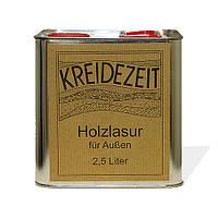 Натуральная  лазурь по дереву безцветная Kreidezeit  Holzlasur (farblos)   2,5 l