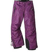 Лыжные штаны CRIVIT фиолетовые р.122/128