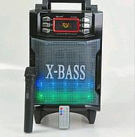 Колонка на аккумуляторе с микрофоном RX-2900 (USB/Bluetooth)