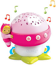 Ночник проектор розовый Cotoons Smoby 110109