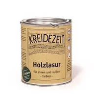 Натуральная  лазурь по дереву безцветная Kreidezeit  Holzlasur (farblos)   0,75 l