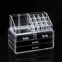 Ящик-органайзер для косметики и бижутерии настольный Cosmetic Organizer Storage Box