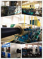 Линия по производству водопроводных труб из полиэтилена (ПНД)