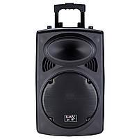 ✓Акустическая система LAV PA-1501W концертная с Bluetooth USB / SD переносная