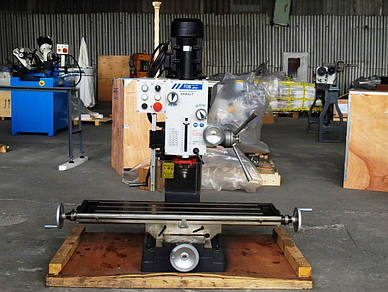 Сверлильно-фрезерный станок DM45LT (с функцией нарезания резьбы) FDB Maschinen
