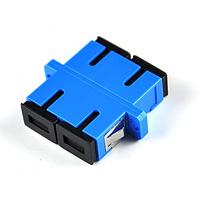 Адаптер оптический Соединение SC/UPC-SC/UPC DUPLEX, в пачке по 20 штук Q20