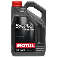 Моторное масло Motul Specific VW 504.00/507.00 5W-30 5 л (838751 / 106375)