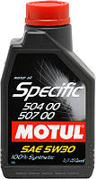 Моторное масло Motul Specific VW 504.00/507.00 5W-30 1 л (838711 / 106374)