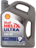 Моторное масло Shell Helix Ultra Diesel 5W-40 4 л