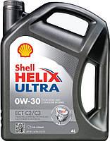 Моторное масло Shell Helix Ultra ECT C2/С3 0W-30 4 л (1017)