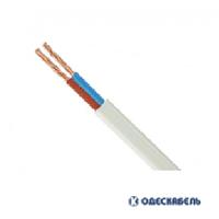 Кабель Одескабель ШВВПн 2х1,0 цена за метр (бух.400м) белый