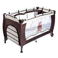 Детская манеж кровать 5466 (V8). Al.