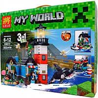 Конструктор BELA Майнкрафт MY WORLD МАЯК (LELE 33017)