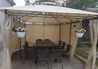 Павильон садовый беседка тент альтана шатер 3 x 4. М