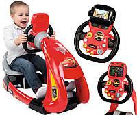 Детский легковой автомобиль,симулятор с подвижным рулевым колесом Smoby 370211