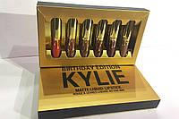 Жидкая матовая помада Kylie Birthday Edition Gold аналог