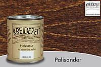 Натуральная  лазурь по дереву цветная Kreidezeit Holzlasur außen / Palisander / цвет палисандр 0,75 l