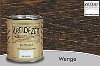 Натуральная  лазурь по дереву цветная Kreidezeit Holzlasur außen / Wenge / цвет венге  0,75 l