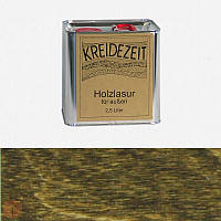 Натуральная  лазурь по дереву цветная Kreidezeit Holzlasur außen / Eiche antik / цвет античный дуб  2,5 l