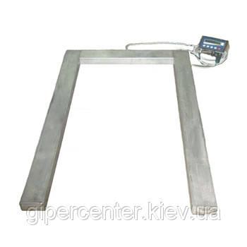 Весы паллетные Техноваги ТВ4-1500-0,5-U(1200х800х90)-N-12еh до1500 кг