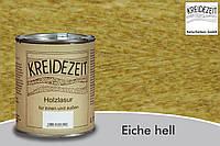 Натуральная  лазурь по дереву цветная Kreidezeit Holzlasur außen / Eiche hell / цвет светлый дуб  0,75 l