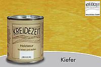 Натуральная  лазурь по дереву цветная Kreidezeit Holzlasur außen /  Kiefer / цвет сосна  0,75 l