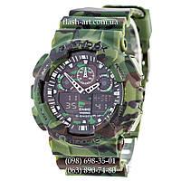 Мужские наручные часы Casio G-Shock GA-100 Dark-Military