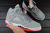 """Кроссовки женские Nike Air Jordan 5 GS """"Hot Lava"""" (Найк Аир Джордан) (Реплика)"""