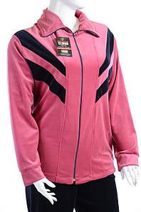 Велюровый женский спортивный костюм стрела K106